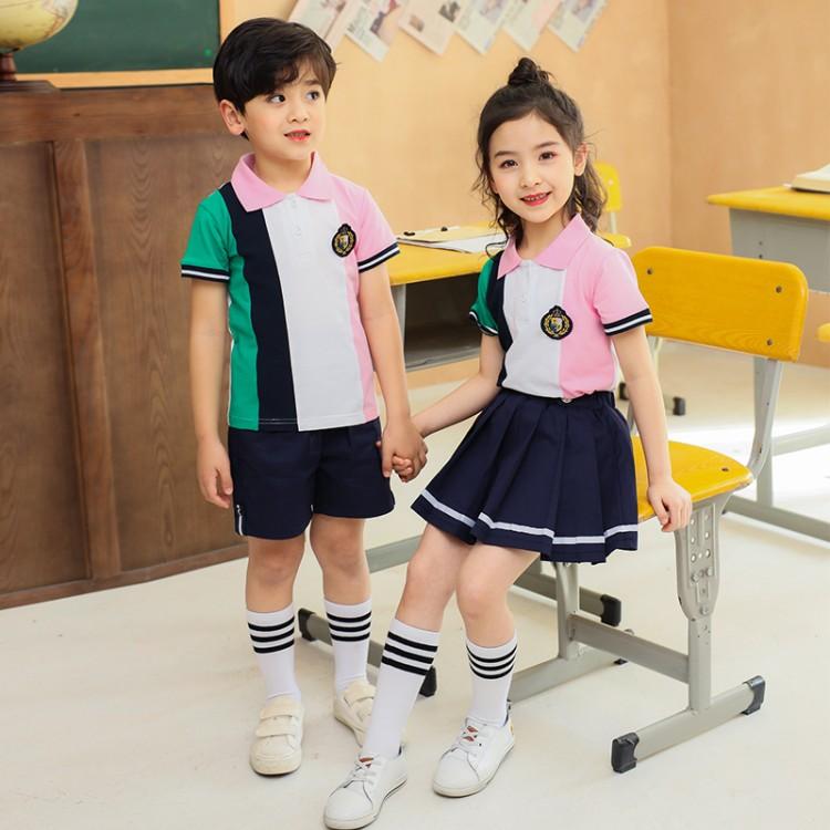 夏季学校校服,中小学学生校服厂家