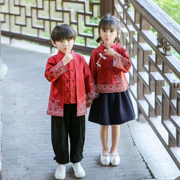 小学生校服,中式小学生校服